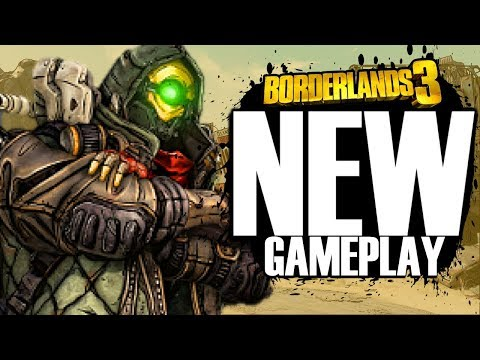 Borderlands 3 NEW GAMEPLAY Shows Off 50+ Weapons!