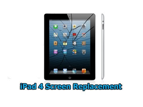 iPad 4 Screen Replacement, iPad Digitizer Repair by Britec