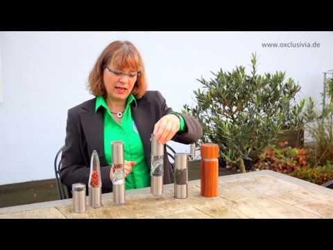 Hochwertige Gewürzmühlen & Gewürzschneider von AdHoc Design Küchenzubehör