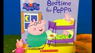 PEPPA PIG Read Along Story Book BEDTIME FOR PEPPA!
