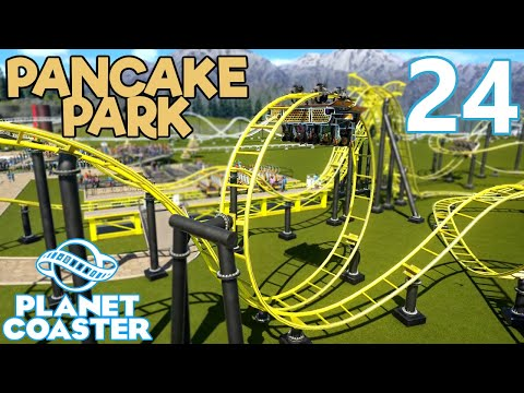 Planet Coaster PANCAKE PARK - Part 24 - LOONY COASTER