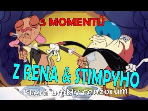 5 momentů z RENA A STIMPYHO, které unikly cenzorům