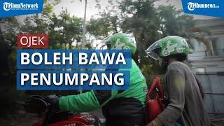 Kemhub Perbolehkan Ojek Bawa Penumpang saat PSBB Jilid Dua di DKI Jakarta