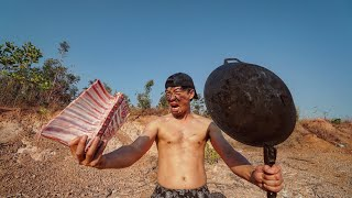 เนื้อแกะออสเตรเลีย ผัดเผ็ดแซ่บ ซี่โครงยักษ์!!
