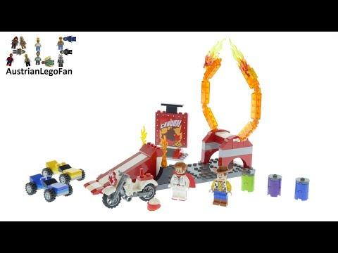 Vidéo LEGO Toy Story 10767 : Le spectacle de cascades de Duke Caboom