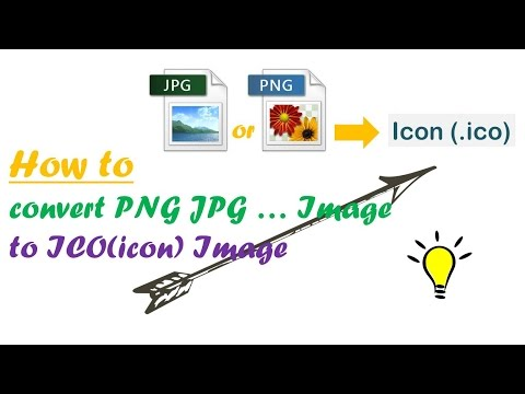 How To Convert Jpg And Png Image To Ico(icon) Image. Mp3