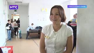 В детской поликлинике появилось развлечение для ожидающих очереди малышей