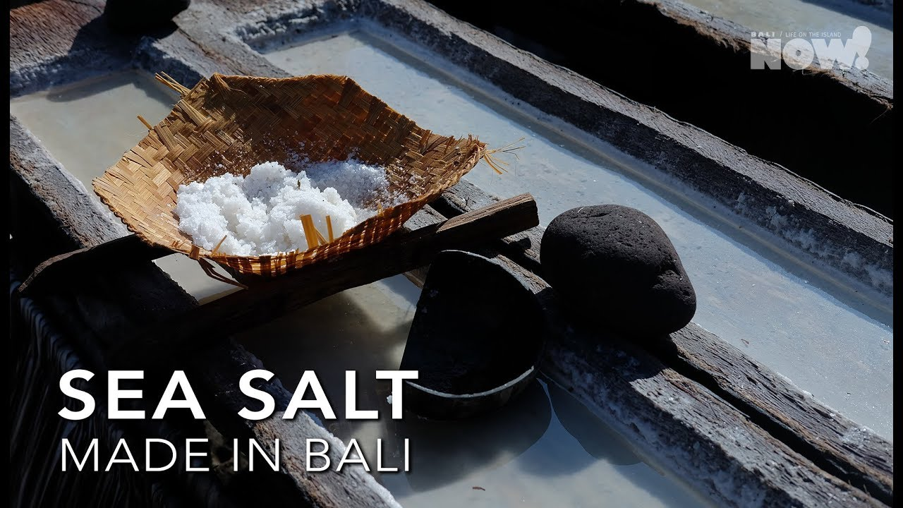 Bali Sea Salt - How is it Made? | Amazing Traditional Method of Salt Making | Made in Bali Episode 1
