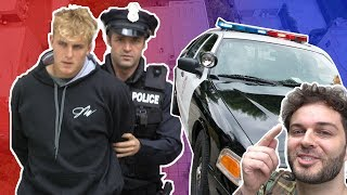 WE GOT JAKE PAUL ARRESTED! *PRANK WARS*