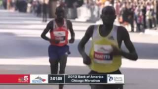 Download Video Dennis Kimetto Chicago Marathon Winner 2013 MP3 3GP MP4