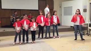Apresentação Música AMOR DO PAI - Clóvis    Renascer São José SC