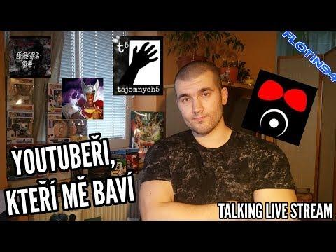 Youtubeři, kteří mě baví + Povídání na téma DC Comics, WWE & AEW | LIVE STREAM