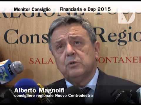 Monitor Consiglio - Finanziaria e Dap 2015.