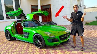 WRAPPING MY NEW MERCEDES SLS AMG !!!