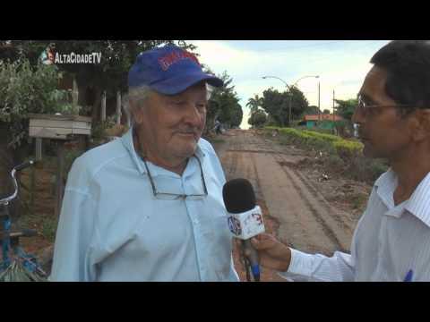 Amorinópolis: Buracos em Ruas da Cidade Causam Reclamações de Moradores
