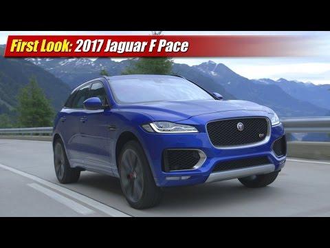 First Look: 2017 Jaguar F Pace