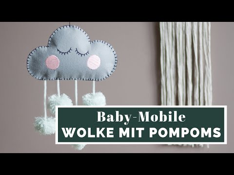 Baby Mobile selbermachen | DIY Tutorial | muckout.de
