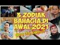 3 ZODIAK BAHAGIA Di AWAL TAHUN 2021 !! KARIR Dan KESEHATAN Membaik !!