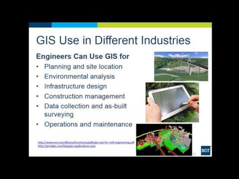 GIS Advanced Certificate (Part-time Online) Info session - YouTube