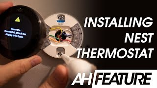 Installing the Google Nest Thermostat 3rd Generation