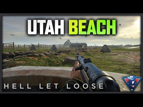 UTAH BEACH | Hell Let Loose Gameplay