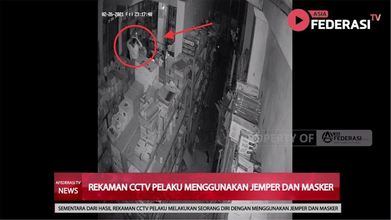 BLITAR – REKAMAN CCTV PELAKU PEMBUNUH BOS TOKO