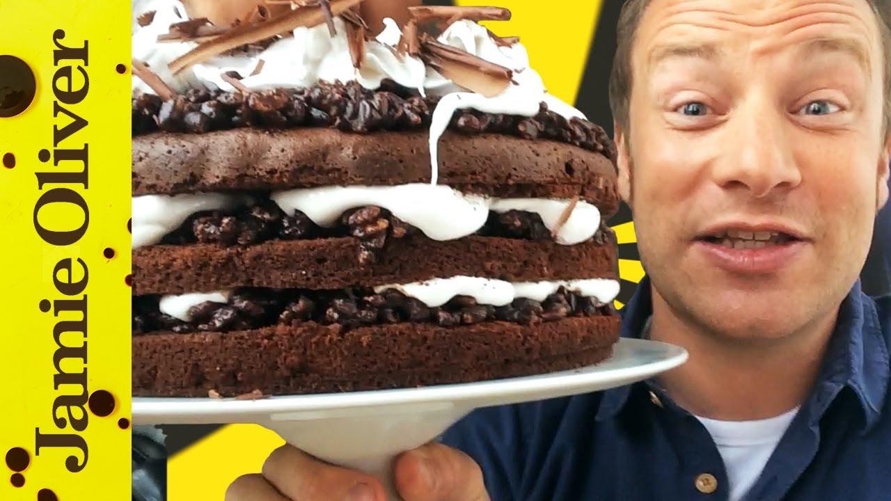 Chocolate Fudge Cake Chocolate Recipes Jamie Oliver