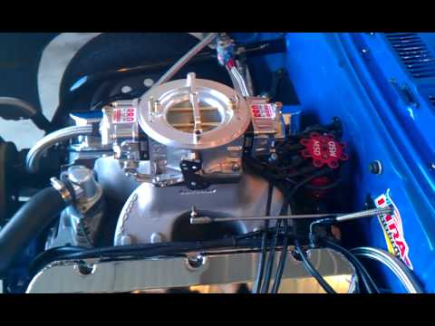 Startup of PRO SYSTEMS  SV1 Carb on 540 ci