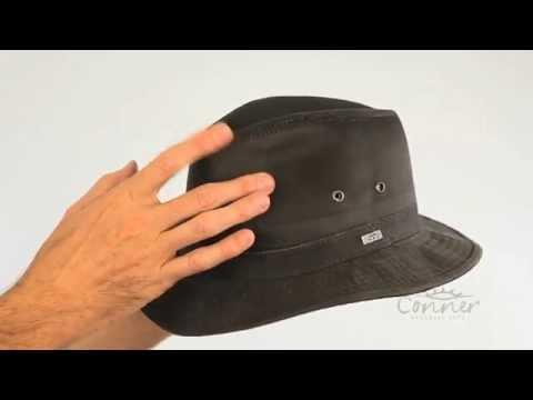 Indy Jones Men's water resistant cotton hat SKU# Y1085
