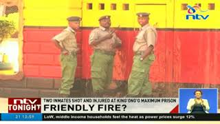 Prison warder shoots, injures two inmates 'accidentally' - VIDEO