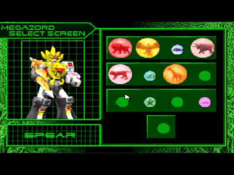 power rangers wild force gba zords
