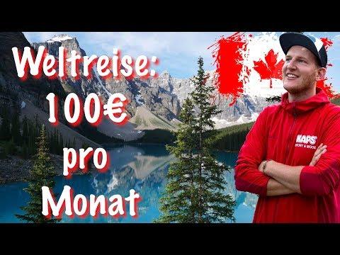 100€ Reisekosten für ein Monat in Kanada | Kanada #15