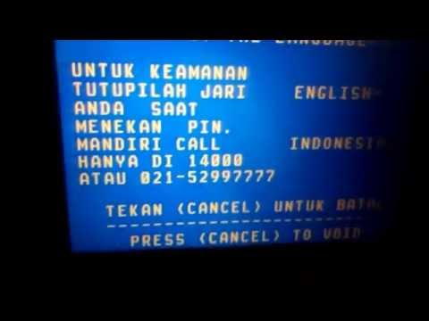 Cara Membayar BPJS di ATM MANDIRI