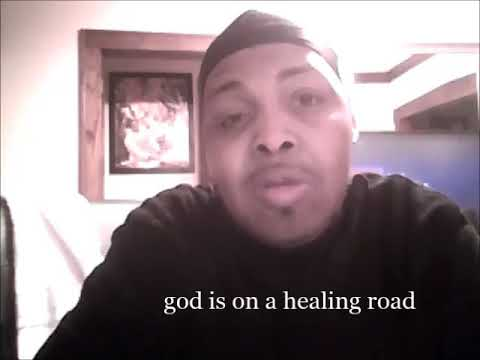 god is on a healing road by jumpin jammin redd