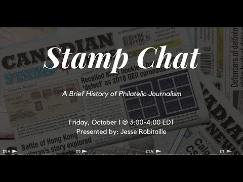 """Stamp Chat: """"A Brief History of Philatelic Journalism"""""""