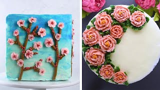 Dress up Any Dessert With These 11 Buttercream Flowers! So Yummy