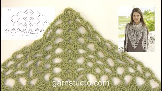How To Crochet A.1 In DROPS 156-44