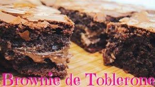 Brownie De Toblerone | Dirty Closet