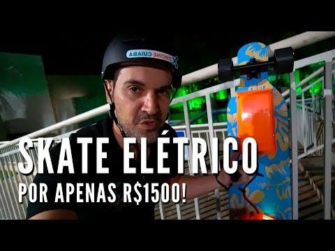 Skateboard Elétrico Caseiro por R$1500