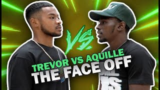 """Aquille Carr & Trevor Dunbar FACE OFF For 1st TIME!! """"LET'S PLAY RIGHT NOW BRUH!"""""""