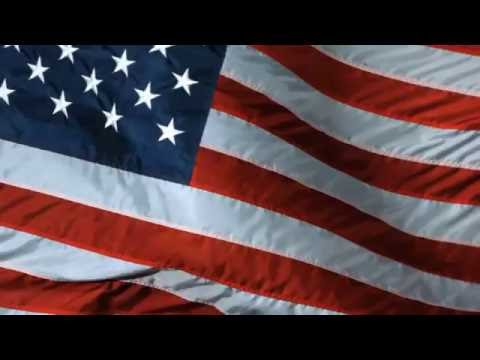 [10 Hours] American Flag Waving - Video & Audio [1080HD] SlowTV