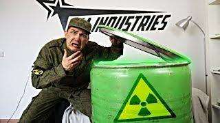 Что внутри бочки из радиоактивного болота, как в Чернобыле