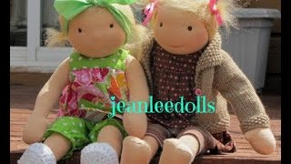 Cloth Doll Square Toe Free Tutorial Pattern  Link In Description
