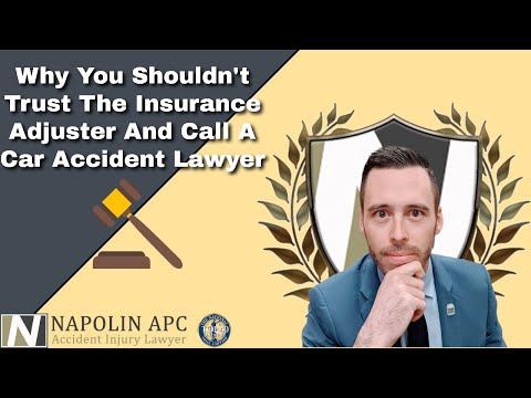 Why You Shouldn't Trust The Insurance Adjuster And Call A ...