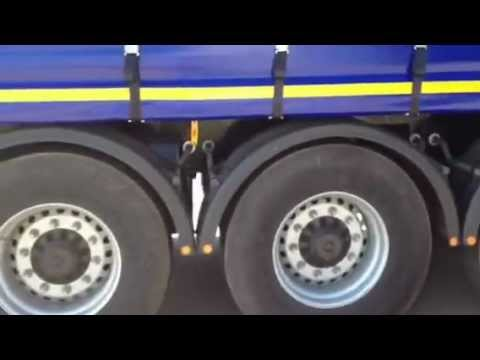 Curtainside trailer from Montracon