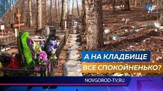 Жители Деревяниц уверены, что закрытое для новых захоронений кладбище незаконно расширяется