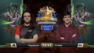 PapaJason vs Firebat - Division B - Hearthstone Grandmasters Americas 2020 Season 1 - Week 6