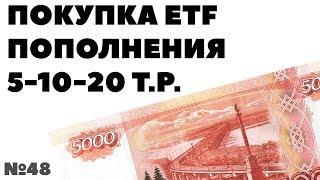 Миллион с нуля №48: Покупка ETF. Суммы пополнений и FXUS