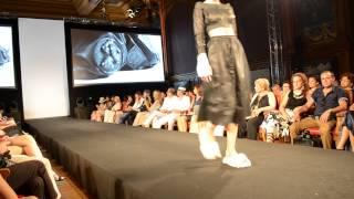 Показ Айнур Турисбек на неделе моды в Монако
