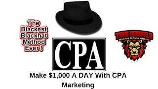 blackhat cpa methods - Free video search site - Findclip Net
